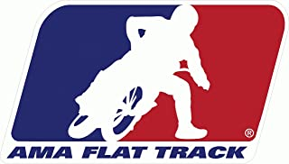 AMA Flat Track Racing Bumper Sticker 5