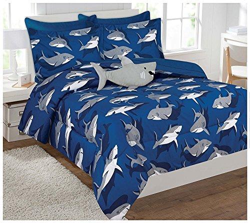 shark bed sheets full - 9