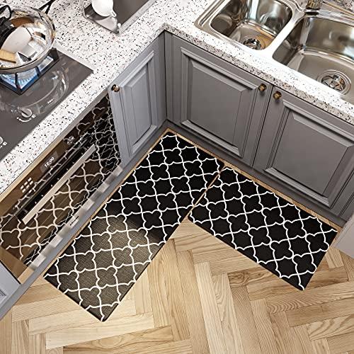 tappeto cucina nero moderno Tappeti da Cucina in PVC