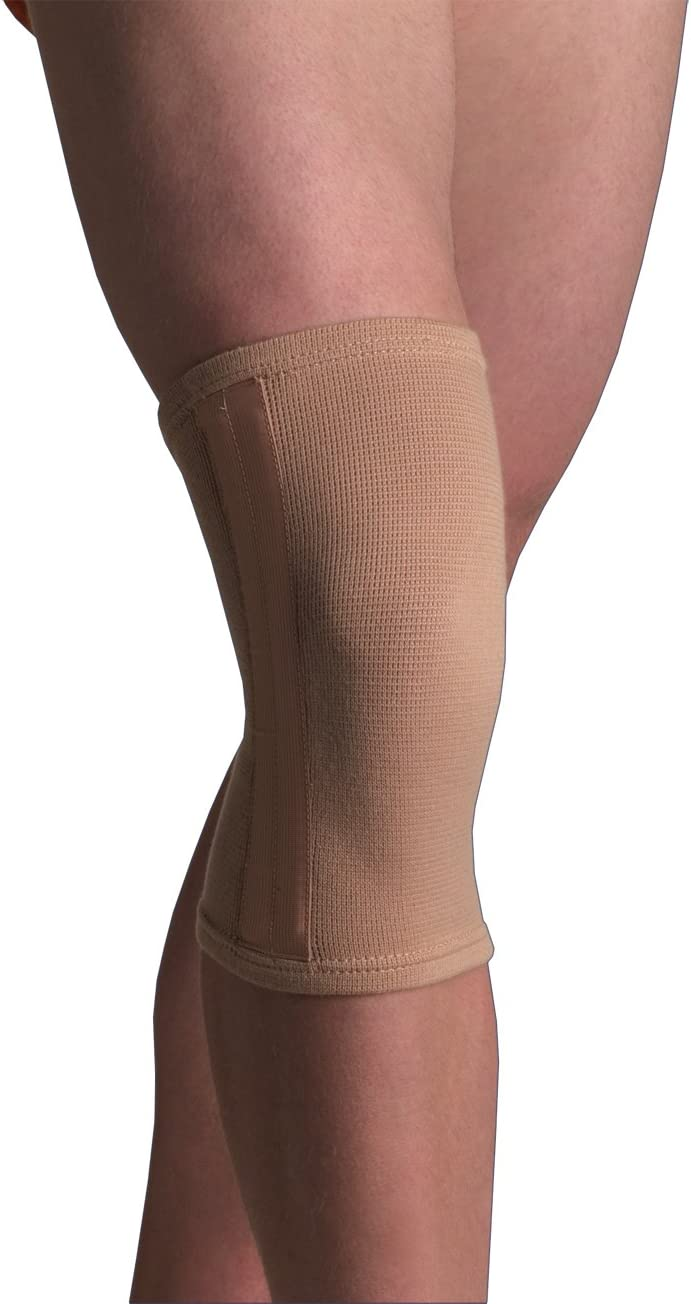 Thermoskin Elastic Knee Stabilizer Medium Today's only Oklahoma City Mall Beige Support