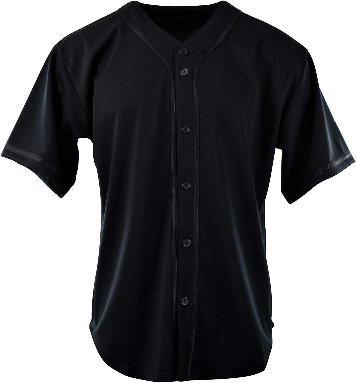 ChoiceApparel Mens Plain Solid Color Baseball Jersey