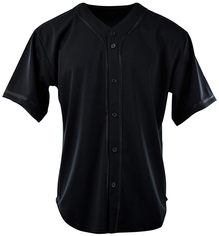 ChoiceApparel Mens Plain Solid Color Baseball Jersey