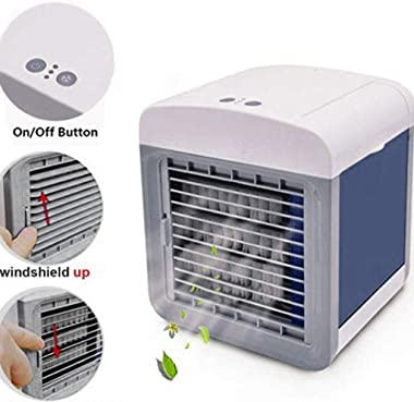 Portable AC Unit Air Conditioner for for Small Room USB Charging Mini Evaporative Air Cooler Fan Home Cooler
