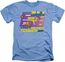 Super Soaker Original Soaker Unisex Adult Heather T Shirt for Men and Women