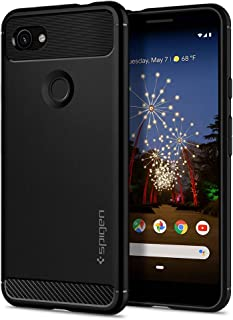 Spigen Rugged Armor Designed for Google Pixel 3a Case (2019) - Matte Black