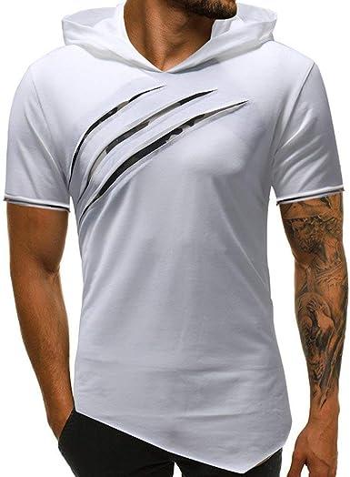 Camisa Blusa Superior Personalidad De La Moda Hombres ...