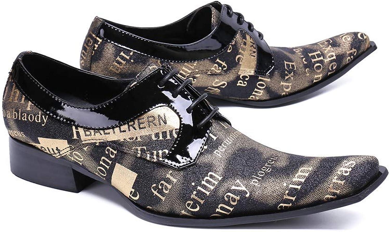 HGilliane Design Modell Abram Oxford Echtes Leder Mann Auswahl