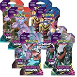 Pokemon Unified MindsTCG Sun & Moon lot: 8 Factory Sealed Booster Packs!