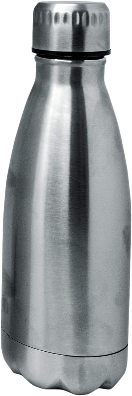NERTHUS FIH 590 Termo Doble Pared para frios y Calientes Diseño INOX de Acero Inoxidable 350 ml Libre de BPA, Tapon Hermético