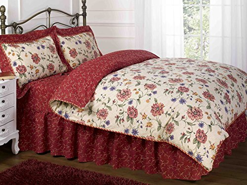 Rapport Banbury Duvet Set, Single-Multi, Polyester-Cotton, Colour