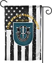 19th SFG Flash Nineteen Welcome Yard Garden Flag Banners for Patio Lawn Outdoor Home Decor 12.5