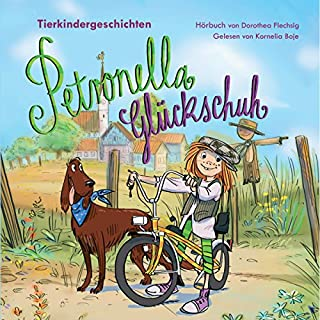Tierkindergeschichten     Petronella Glückschuh 1              Autor:                                                                                                                                 Dorothea Flechsig                               Sprecher:                                                                                                                                 Kornelia Boje                      Spieldauer: 1 Std. und 17 Min.     6 Bewertungen     Gesamt 4,8