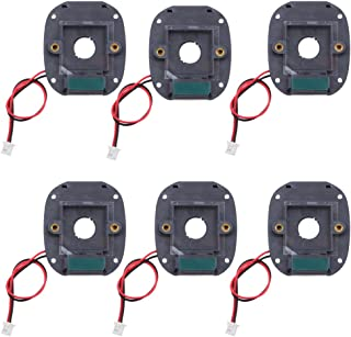 6 Pieces CCTV Camera Day/Night Vision IR-Cut Filter Switcher M12 for Wide Angle Security Camera
