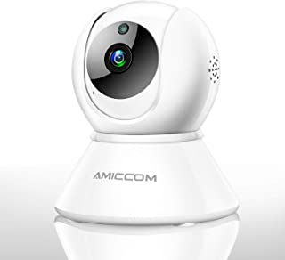 WiFi Camera-1080P Security Camera Indoor 2.4Ghz Home Camera with 2 Way Audio Night Vision iOS/Android/Windows