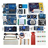 IOT starter kit for Aduino 2)Fully compatible with Aduino, easy to learn. Even you are a novice to Aduino, circuit and programming, you can follow our step by step lessons to learn how make interesting IoT projects. 3)All projects are working on Adui...