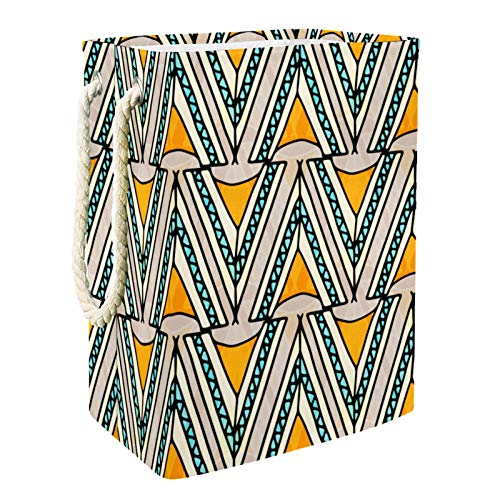 Vito546rton Cesta de lavandería bohemia alta y resistente para adultos, niños, adolescentes, niñas en el dormitorio, cuarto de baño, 49 x 30 x 40 cm