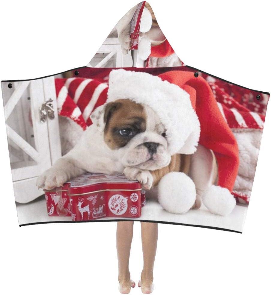JIAJIA Kids Size New York Mall Blanket Prepossessing Lov Dog Dressed outlet Christmas