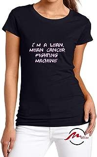 I'm A Lean Mean Cancer Fighting Machine Fashion Cotton Tee Unisex Adult Youth Tshirt