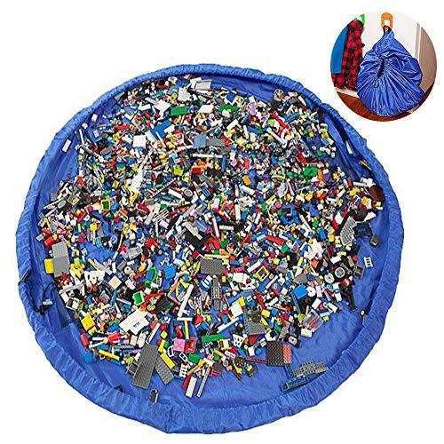 Phego Kinder Aufräumsack Spieldecke Spielzeug Speicher Tasche Aufbewahrung Beutel Spielzeugaufbewahrung XL