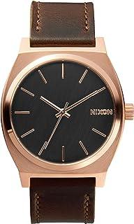 Nixon Unisex Time Teller Leather