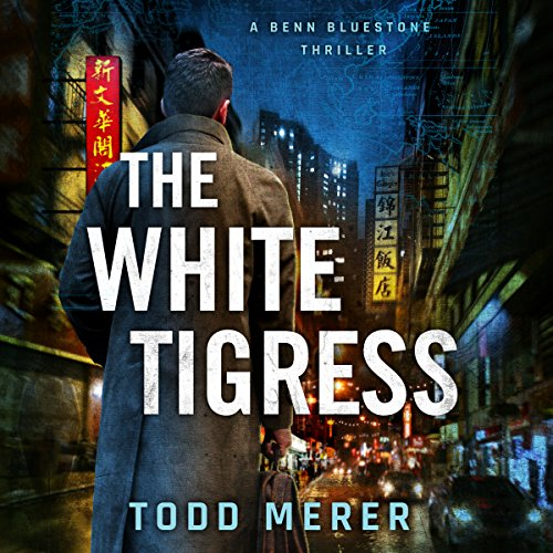 The White Tigress audiobook cover art