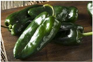 Best poblano pepper seeds heirloom Reviews