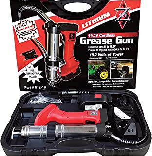 Zee Line Cordless Grease Gun Kit - 19.2 Volt, 8500 PSI, 1 Battery, Model Number 912-19L