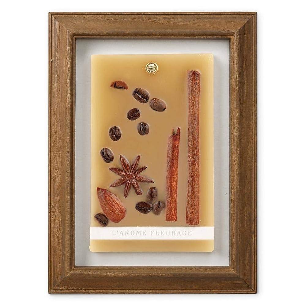 飼い慣らす敬礼大邸宅FLEURAGE(フルラージュ) アロマワックスサシェ コーヒーの香り Coffee×AntiqueBrown KH-61117