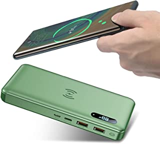 DNGDD Power Bank 50000Mah ultrahög kapacitet bärbar telefonladdare med 15 W trådlös laddning, PD 65 W snabbladdning, LED d...