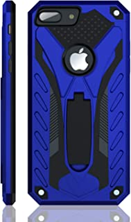 iPhone 8 Plus Case   Military Grade   12ft. Drop Tested Protective Case   Kickstand   Wireless Charging   Compatible with Apple iPhone 8 Plus - Blue