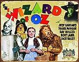 "Desperate Enterprises The Wizard of Oz - 70th Anniversary Tin Sign, 16"" W x 12.5"" H"