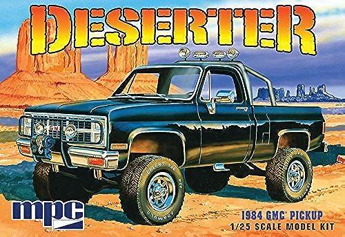 1984 GMC Pickup Deserter MPC 847 1 25 New Truck Model Kit by MPC