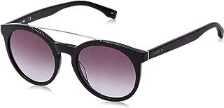 LACOSTE Unisex's L821S 001 52 Sunglasses, Black