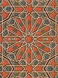 Owen Jones: Alhambra Ceiling – Decke der Alhambra 2018: Original Flame Tree Publishing-Pocket Diary [Taschenkalender]