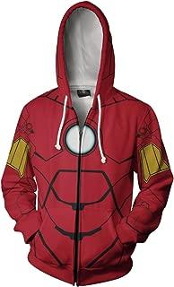 Inferno Ironman Zipper Hoodie | Mens Hoodies Hoodies for Mens | Ironman Hoodie Sweatshirt Winter Cotton Multi Color