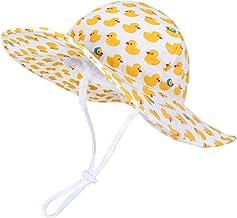 Happy Cherry Baby Bucket Hat Soft Cotton Sun Protection