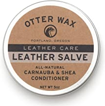 Otter Wax Leather Salve | 5oz | All-Natural Universal Conditioner | Made in USA …