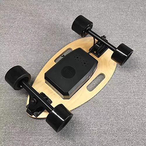 WRISCG Skateboard Eléctrico Apariencia de Escarabajo con El Regulador Alejado, Tabla de...
