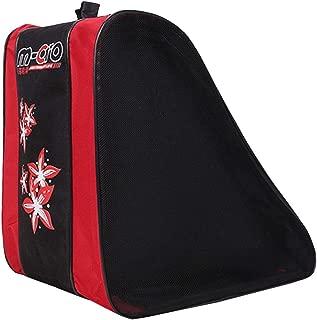 Kaimaily Storage Bag Waterproof Nylon Pulley Triangle Bag Outdoor Sports Roller Skating Bag Shoulder Shoulder Diagonal Pulley Backpack Roller Skating Bag Skate Bag Adjustable Shoulder