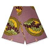 Afrikanischer Stoff, grüne gelbe Früchte, Wachstuch –