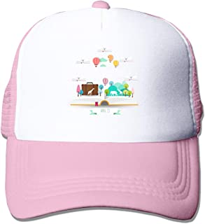 a40fc86f6e943 Mesh Sports Baseball Caps World Reading Day Adjustable Trucker Sun Hats for  Running Outdoor