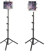Floor Tablet Stand Multi-Angle, Up to 59 Inch Height Adjustable,360° Rotating,Foldable Tripod Mount Holder for iPad Pro, iPad 1,2,3,4,iPad Mini,iPad Air,Samsung Galaxy and More 7