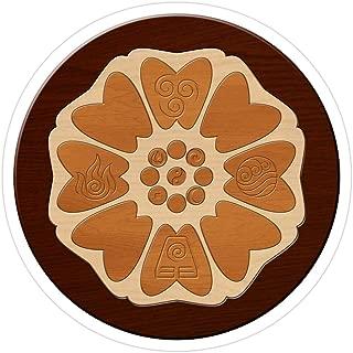 white lotus pai sho tile