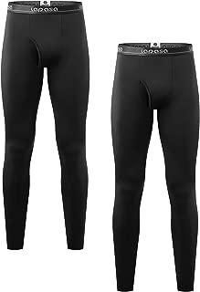 Men's Thermal Underwear Pants Fleece Lined Long Johns Leggings Base Layer Bottoms M10