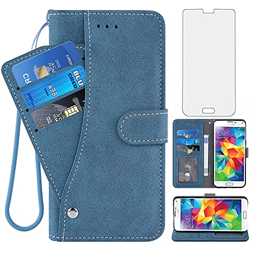 Compatible with Samsung Galaxy S5 Wallet Case and...