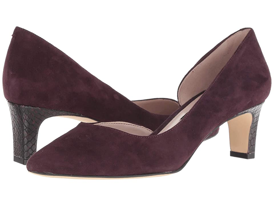 Nine West Adventure (Dark Purple Suede) Women