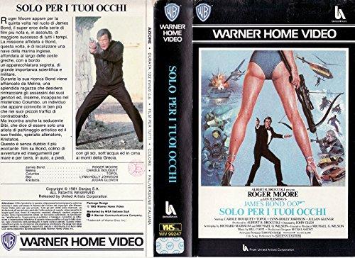 Agente 007. Solo per i tuoi occhi (1981) VHS