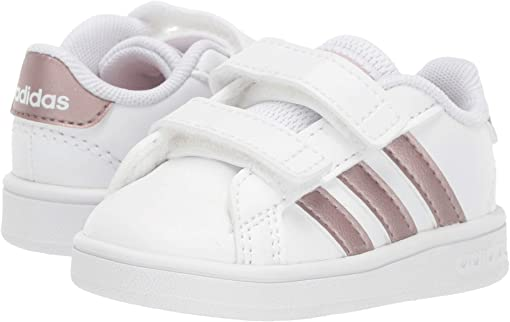 Footwear White/Copper Metallic/Glow Pink