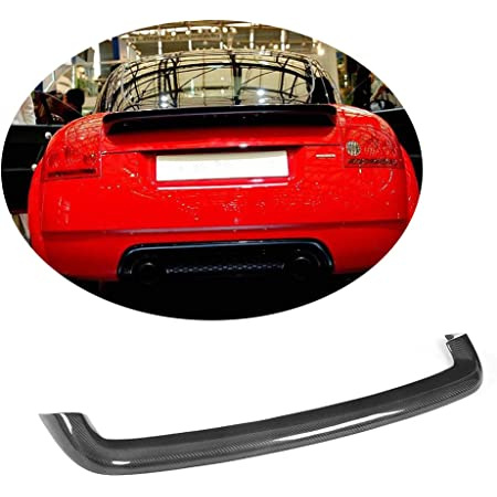 Mcarcar Kit Trunk Spoiler Fits Audi Tt Mk1 Type 8n Tt Quattro 1998 2006 Factory Outlet Carbon Fiber Cf Rear Boot Lid Highkick Wing Lip Automotive