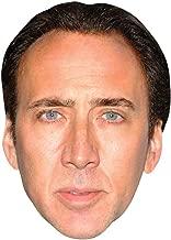 Celebrity Cutouts Nicolas Cage Big Head. Larger Than Life mask.